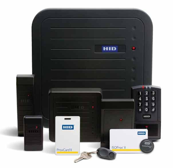 HID Proximity Access Control System