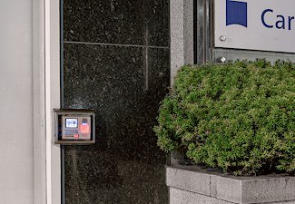 photo of external door access control by Park Taeho