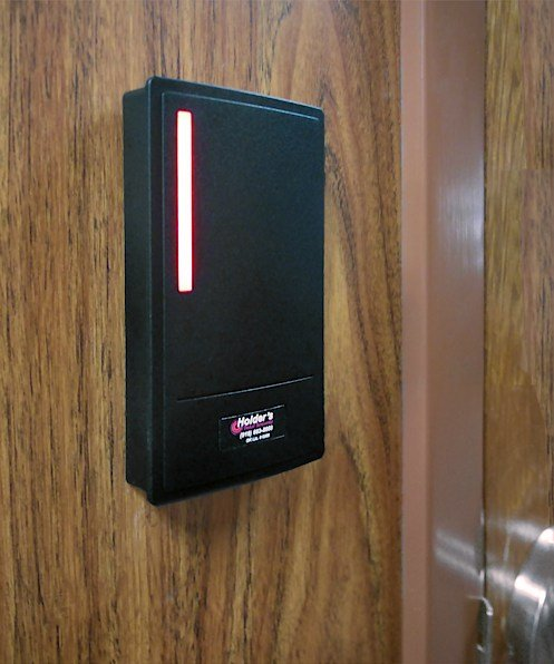 photo of card reader - Holder's Total Security in Tulsa Oklahoma